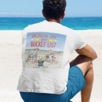 Johnny Russler and the Beach Bum Band Working On My Bucket List Unisex Tshirt