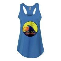 Beach Bum Band Logo Ladies Racerback Tank