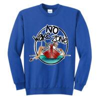 Johnny Russler / Mike McEnery No Wake Zone Crewneck Sweatshirt