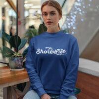 Shore Life Radio Dolphin Logo Unisex Sweatshirt