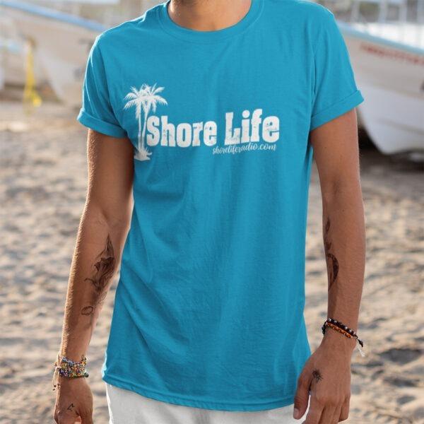 Shore Life Radio Palm Tree Logo Unisex T-Shirt