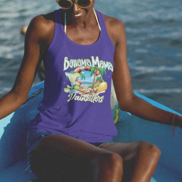 Bahama Mama and the Painkillers Double T Racerback Tank