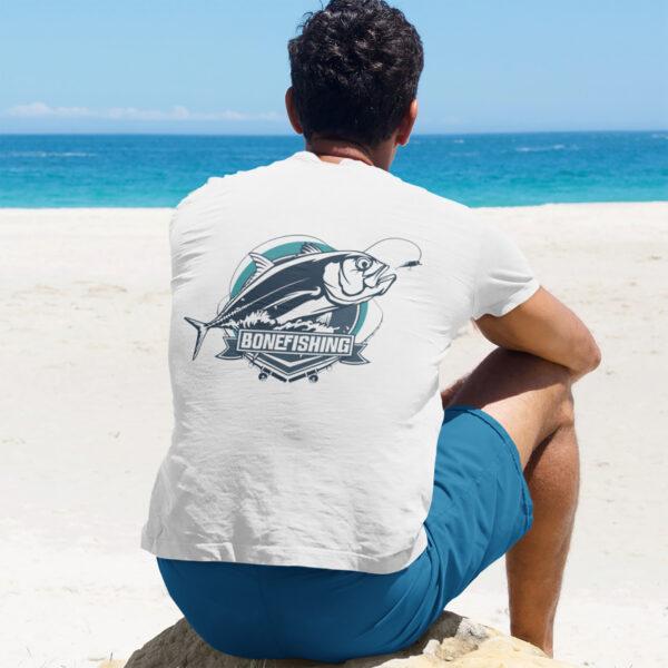 Beach Bum Band Bonefishing Unisex t-shirt